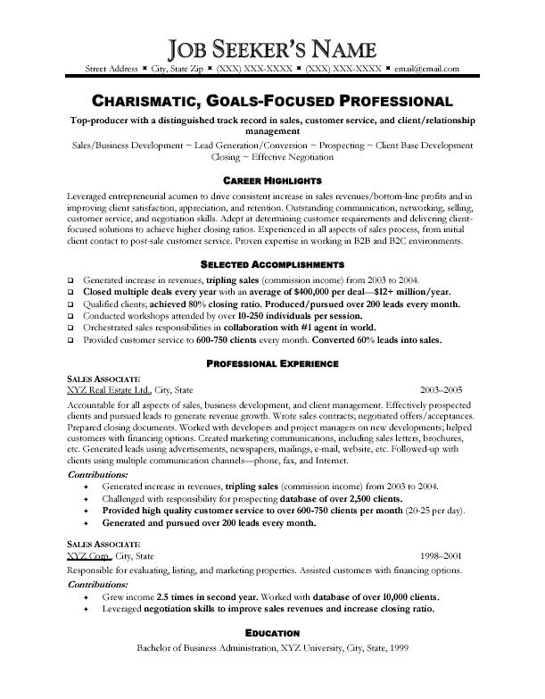Example Of Resume Title For Sales. Resume Samples Executive Sales