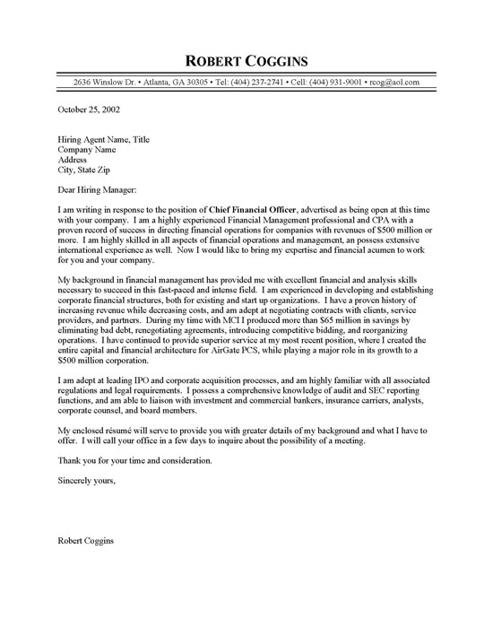 Generic Resume Examples. cio cover letter resume cover letter ...