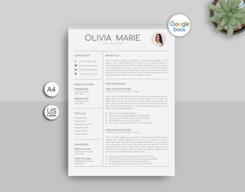 Google Docs Resume