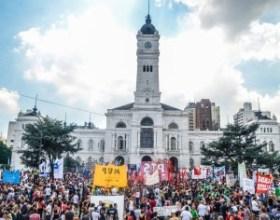 Photo: Kaloian Santos Cabrera, Mass Demonstration in La Plata, Jan 11, 2016