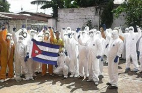 Cuba was the first country to respond to the emergency, announcing that it would initially send a group of 165 health collaborators to Sierra Leone, a number which later increased. Photo: Granma