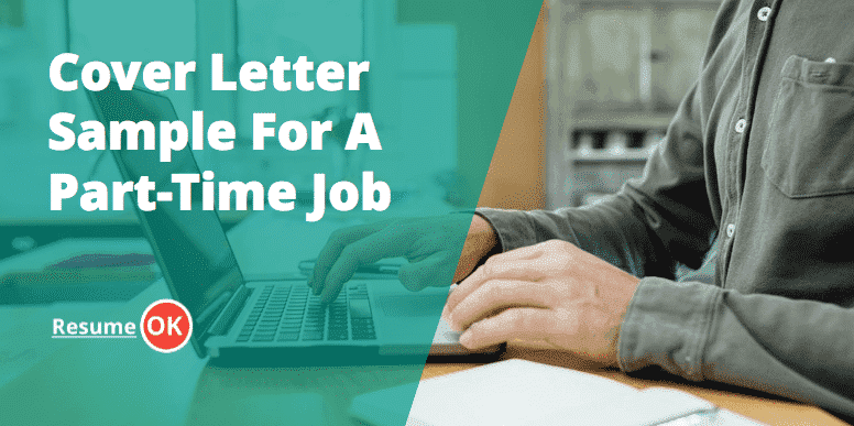 Cover Letter Sample For A Part Time Job