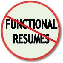 career changers avoid functional resumes resumepower