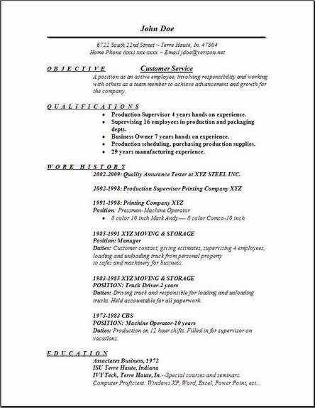 Free Sample Resume Objectives Customer Service. Is Objective