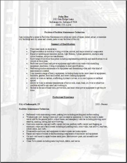 facilities resume3