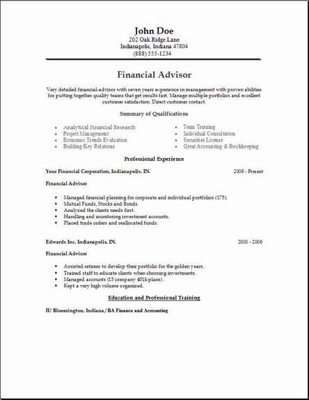 Finance Resumes Examples. Resume Samples. Finance Economics Resume