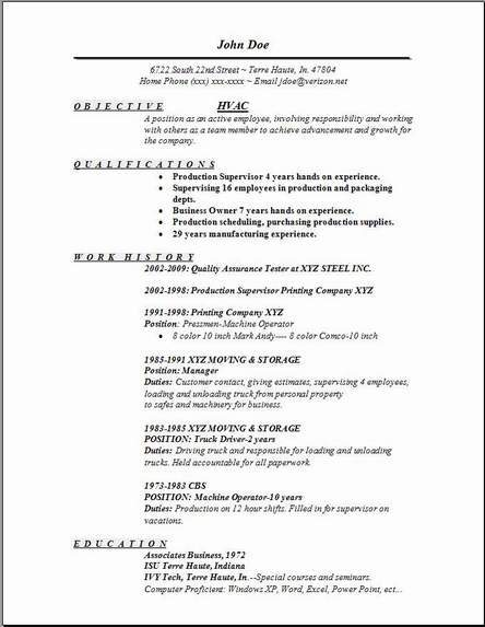 material handler resume example occupational examples samples