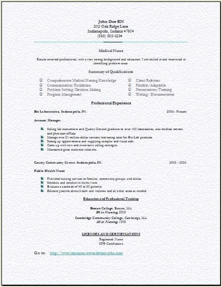medical resume3 er uncategorized