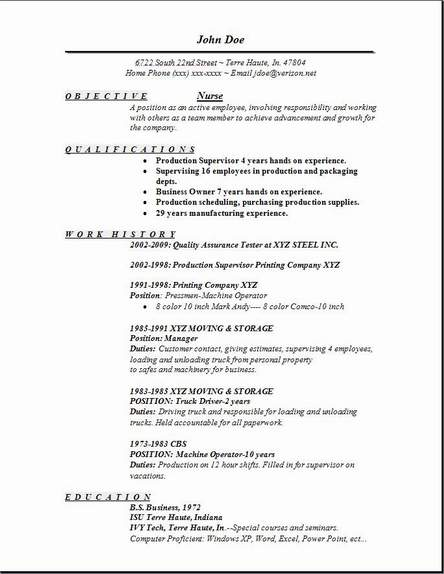 Free Cna Resume. resume example images cna resume template easy ...
