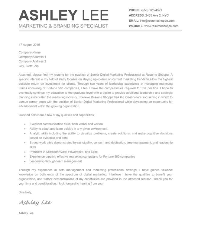 Perfect Exle Cover Letter 87 About Remodel Doc Template With