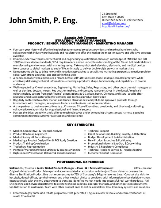 cv for marketing executive s manager cv example cv template s