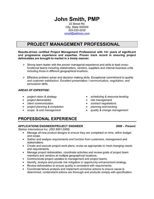 project premium example