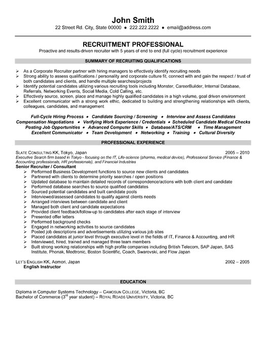 consultant resume doc resume objective statement for school