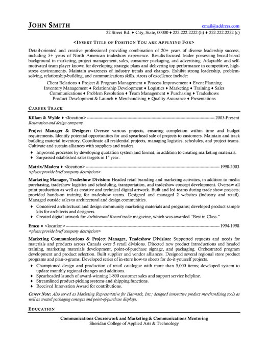 Retail Management Resume Examples And Samples. 14 Retail Store