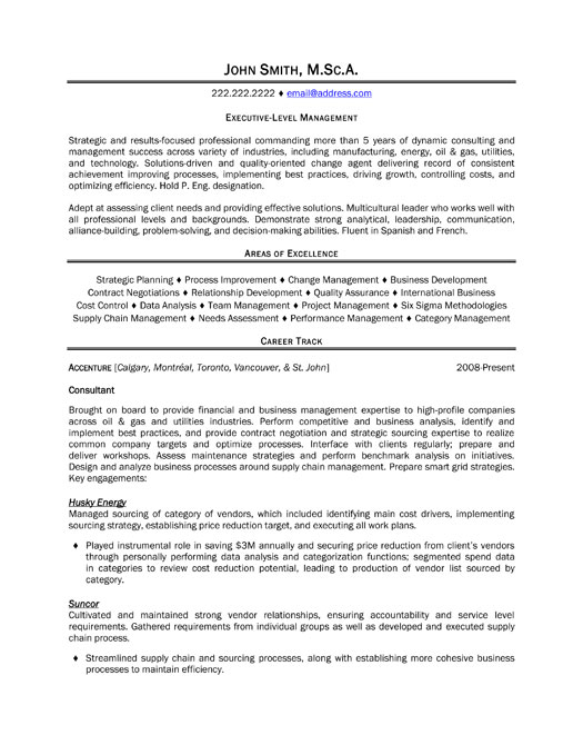 executive level resumes images about executive resume samples on