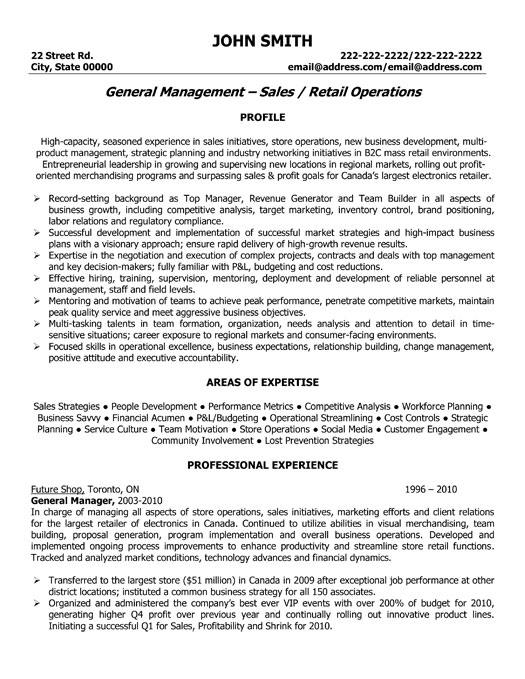 sales manager resume example sales manager resume example page 2