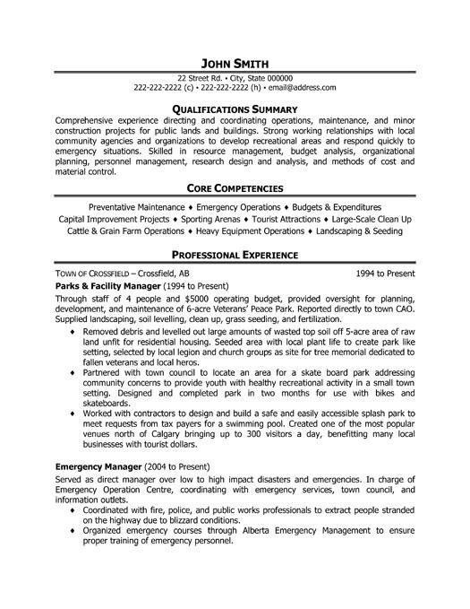 facility maintenance resume samples hvac and refrigeration resume