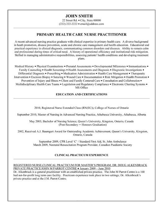 nurse practitioner resume template premium resume samples amp example