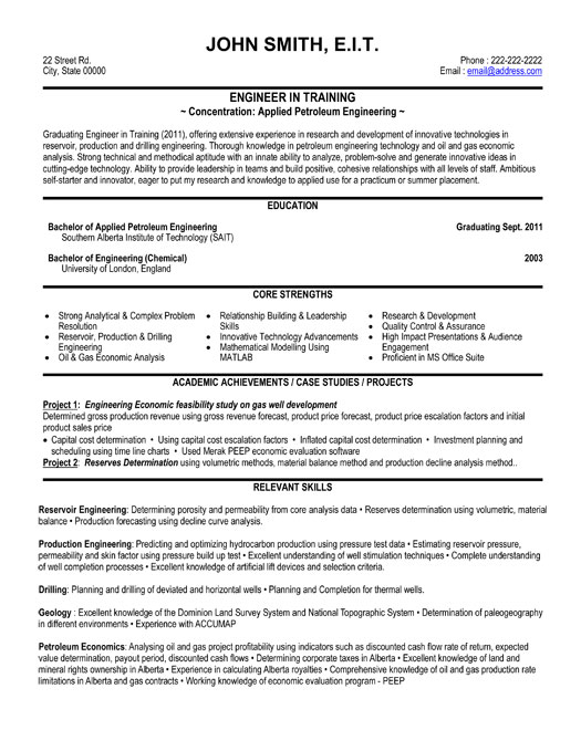 engineering student templates template builder