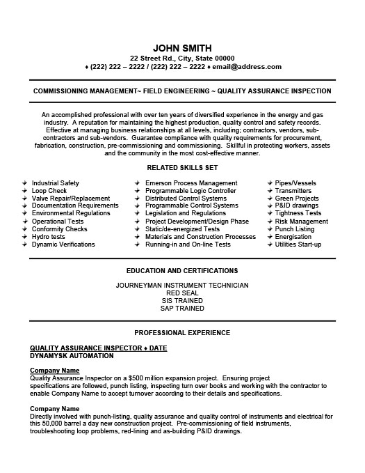 Oil And Gas Resume Template. Consultant Oil Gas Engineer Resume