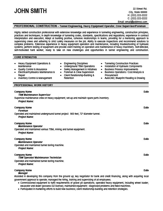maintenance director resume job resume sample industrial