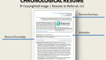 What\'s a Combination Resume + Resume Example