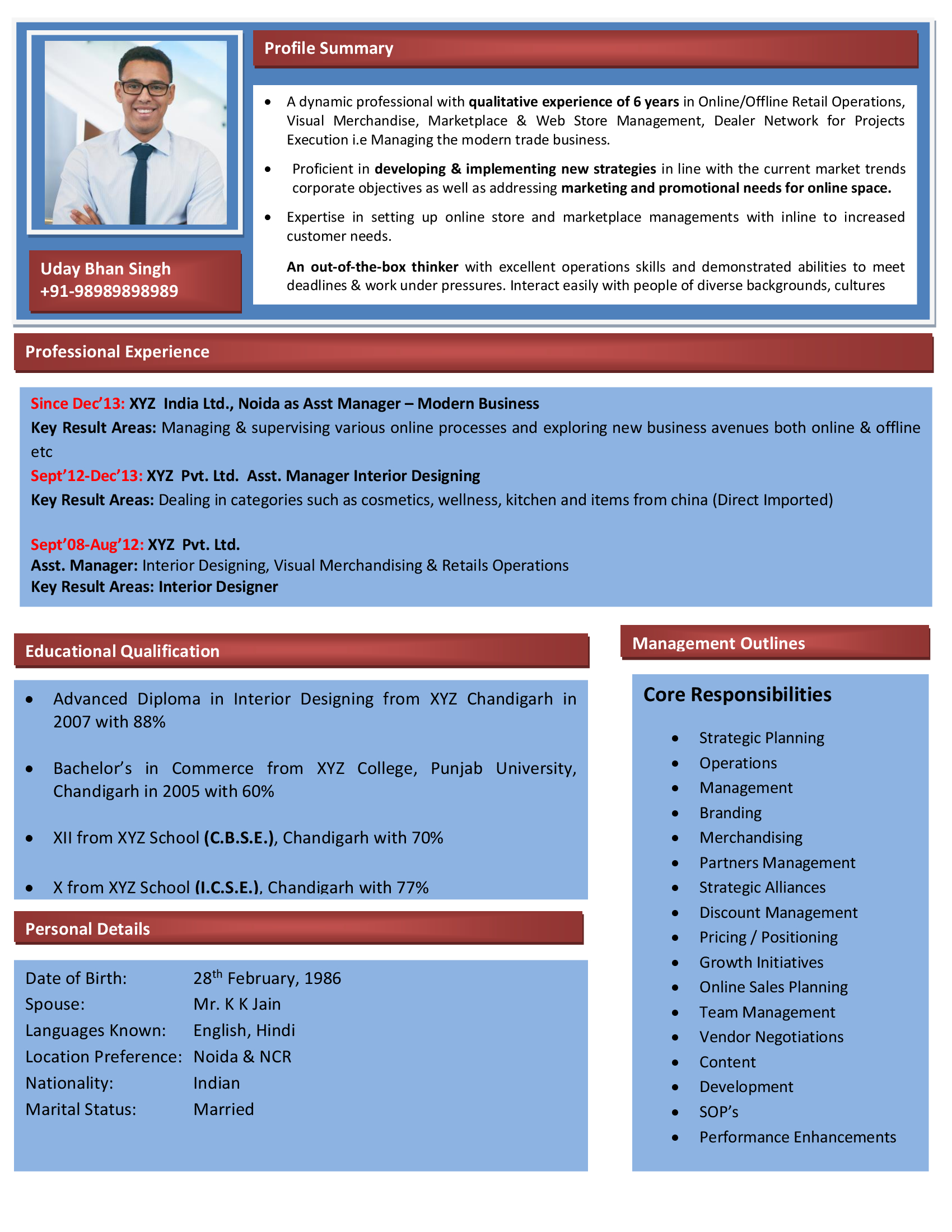 Seo Executive Resume