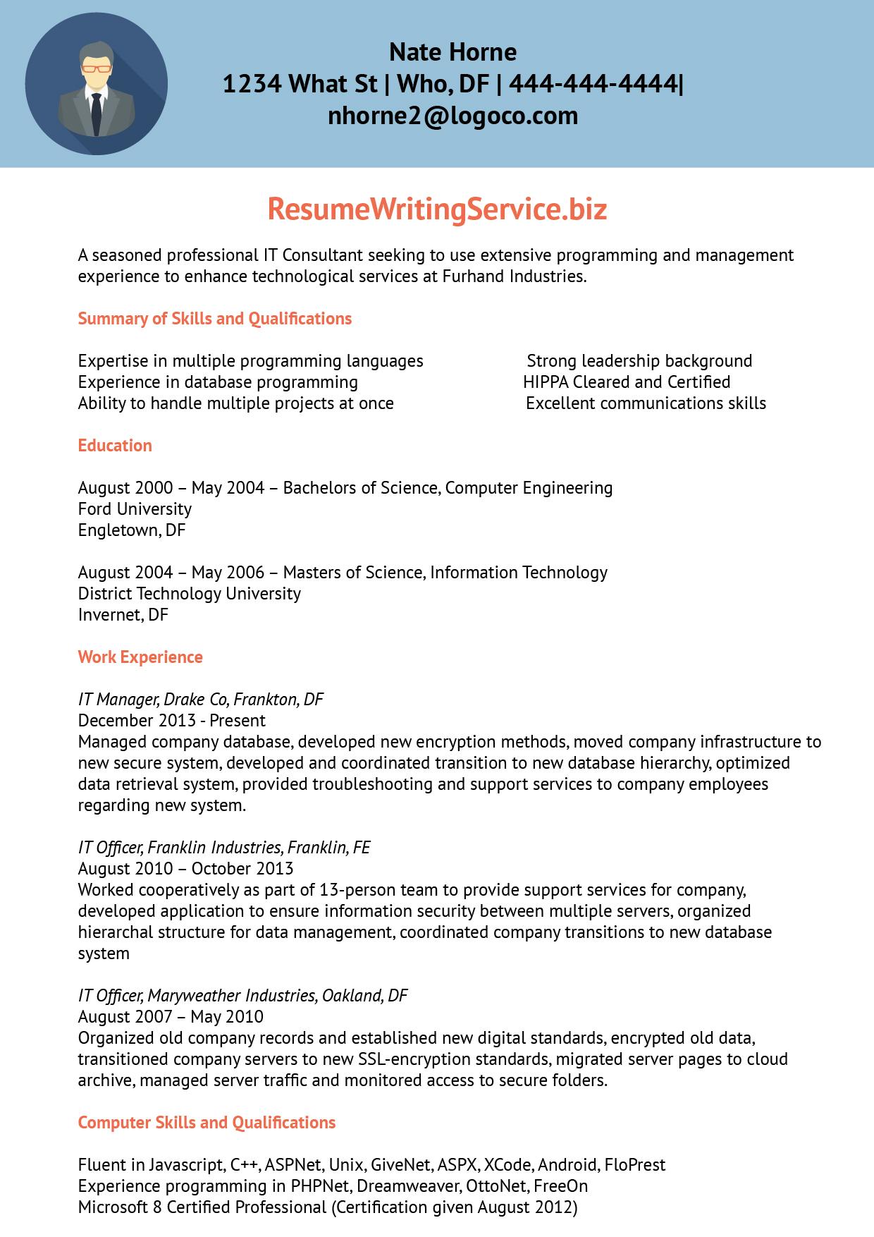 online resume software