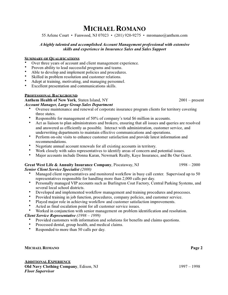 advertising sales representative resume sample resume writing