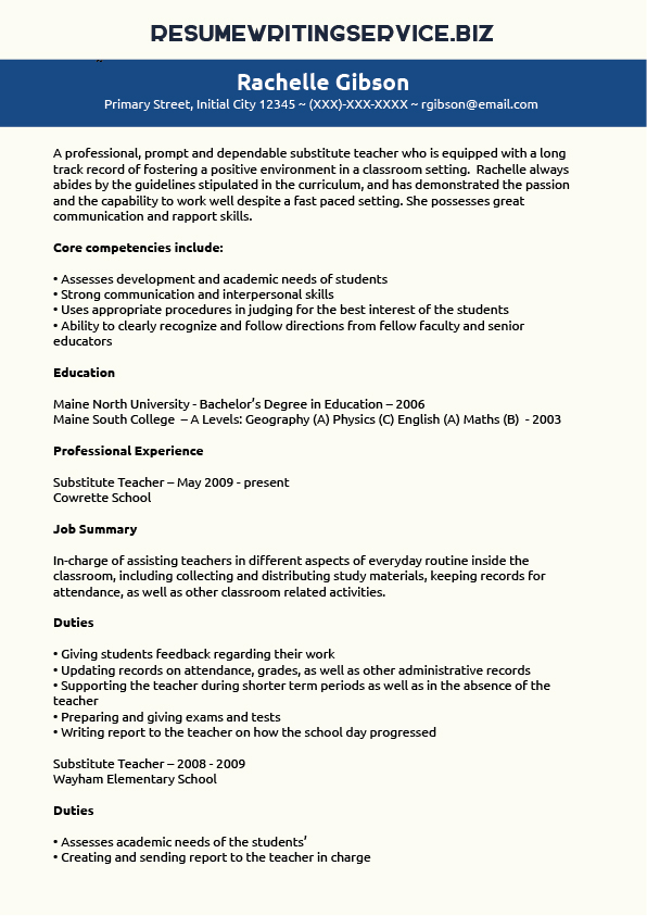 District Manager Resume Sample - Job Interview Career Guide