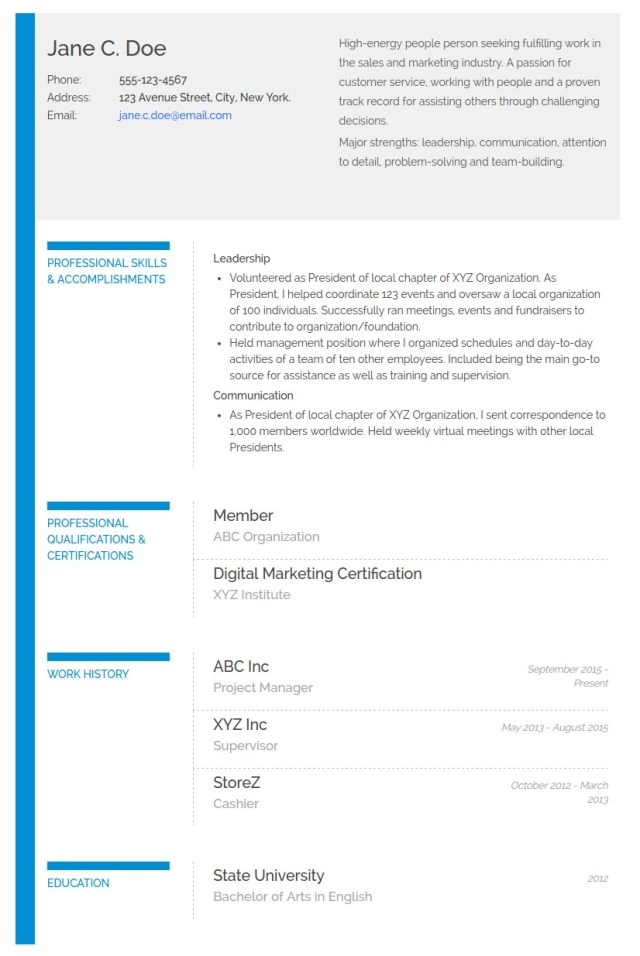 How to Write a Functional or Skills-Based Resume (With an Example