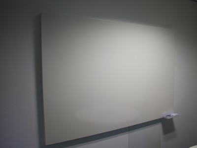 frameless steel magnetic whiteboard