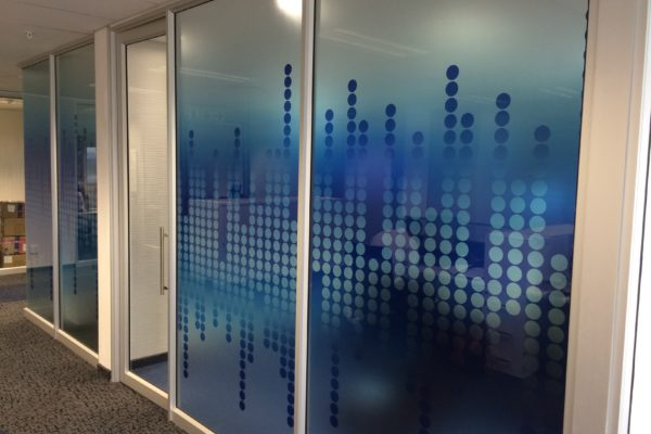 printed glass to offices