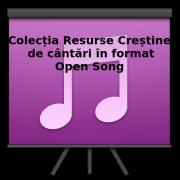 Cântările de pe Resurse Creștine în format Open Song