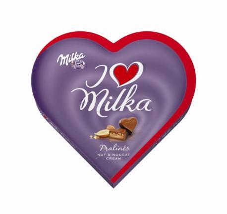 I love Milka Nut Nougat 137,5g