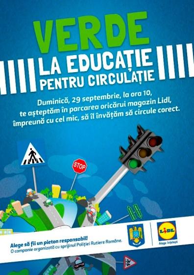 Verde la educatie pentru circulatie