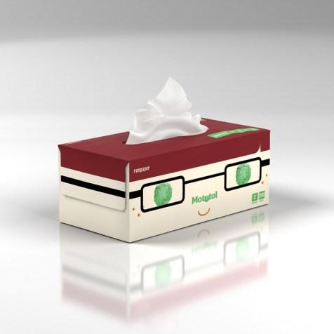 Mototol-Servetele la cutie-200-A
