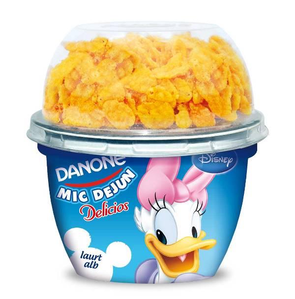 Delicios-Mic-Dejun-iaurt simplu (Daisy)