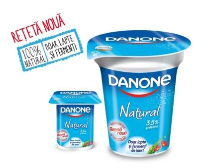 Danone Natural-Doar lapte si fermenti