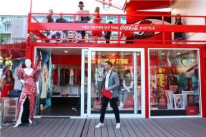 Coca-Cola POP-UP STORE 2