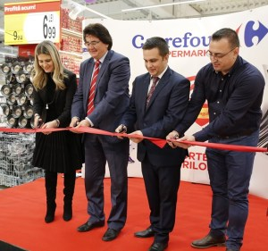 Inaugurare hipermarket Carrefour Timisoara