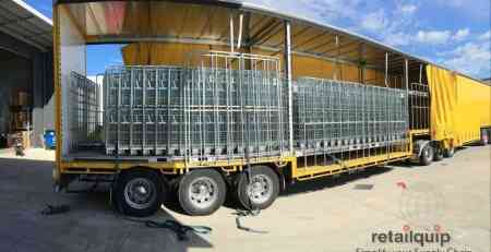 Rollcages Loading Truck