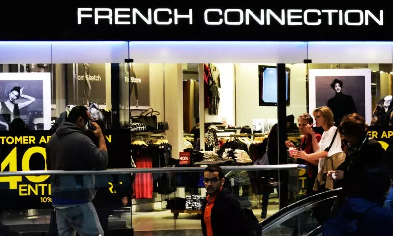 French Connection shares up as losses narrow and takeover interest revealed