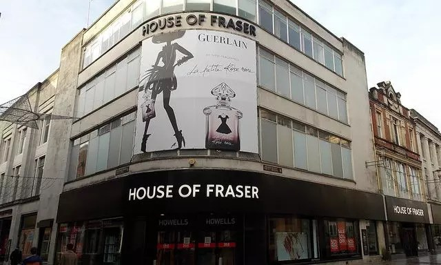 House of Fraser's woes deepen as it plans restructuring