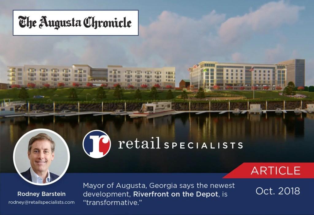 riverfront depot development augusta ga retail specialists