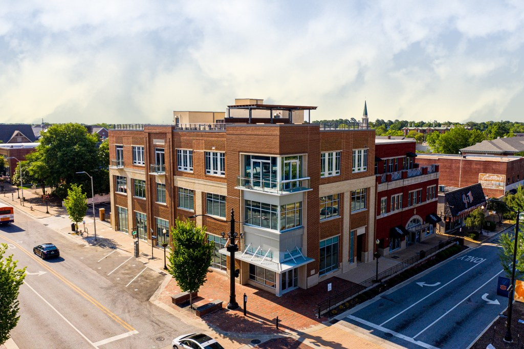 The Thomas Building at Toomer's Corner is Retail Specialists most recent project
