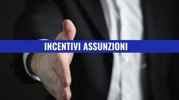 incentivi assunzioni