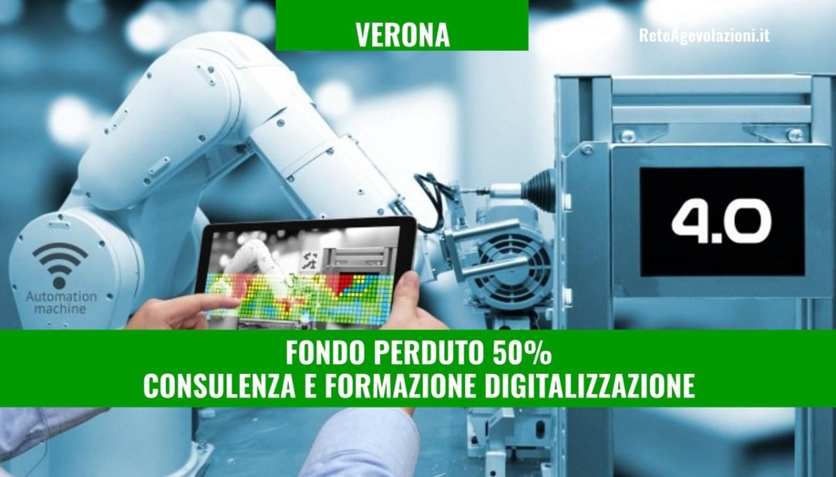 VERONA - Voucher digitalizzazione