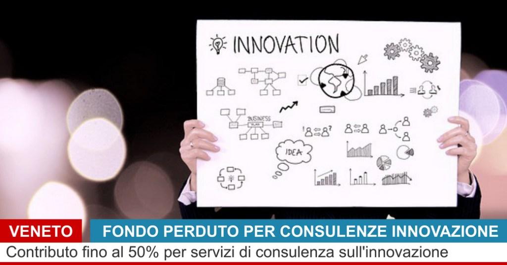 agevolazioni consulenze innovazione