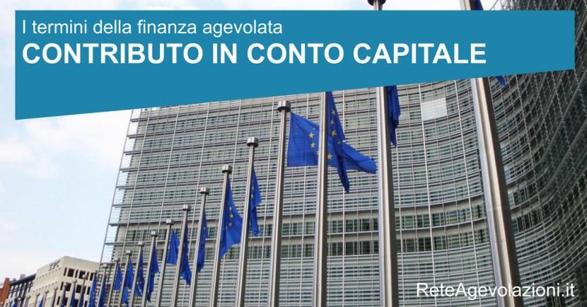 contributo in conto capitale